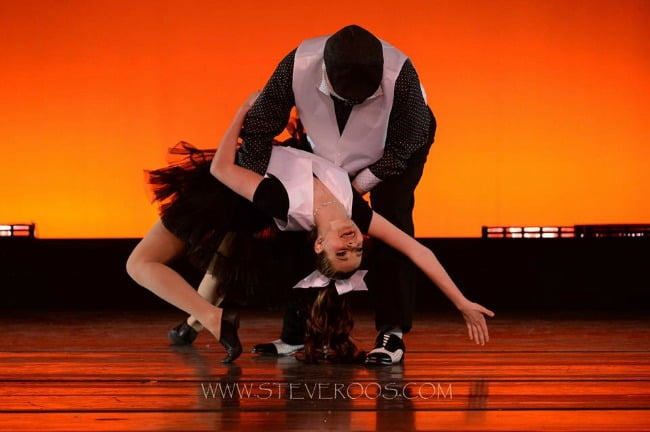 Leo Windham and Michaela Mixon in Darlington County Dancing with the Stars