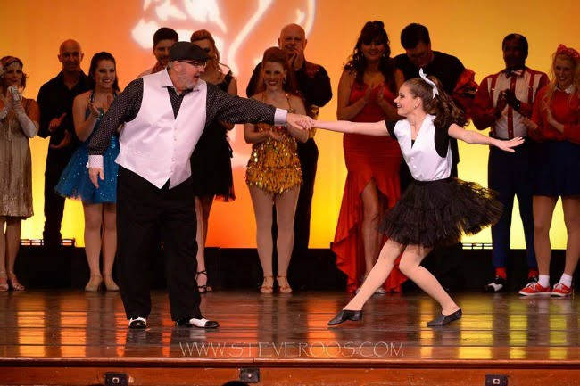 Leo Windham and Michaela Mixon in Darlington Country Dancing with the Stars