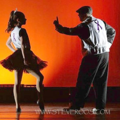 Leo Windham and Michaela Mixon in Dancing with the Stars