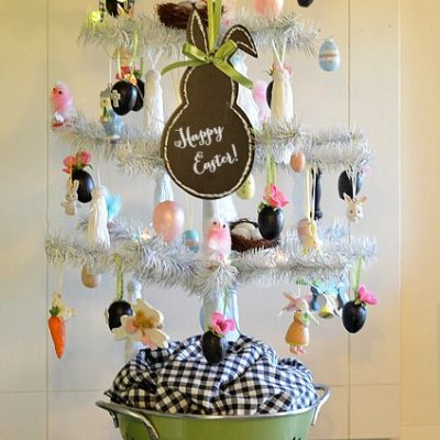 Easter Tree for the Kitchen