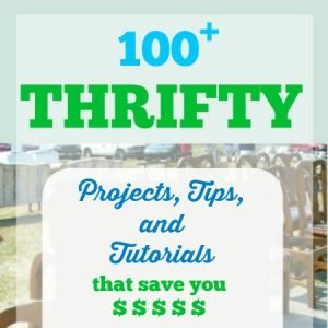 Thrifty Projects, Tips, and Tutorials to Save You Money