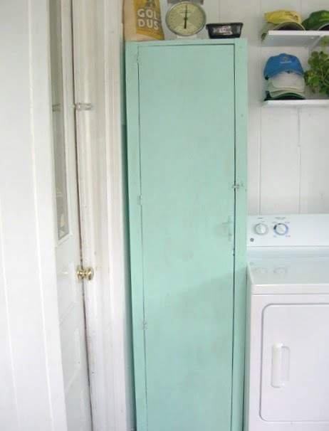 laundry cabinet makeover