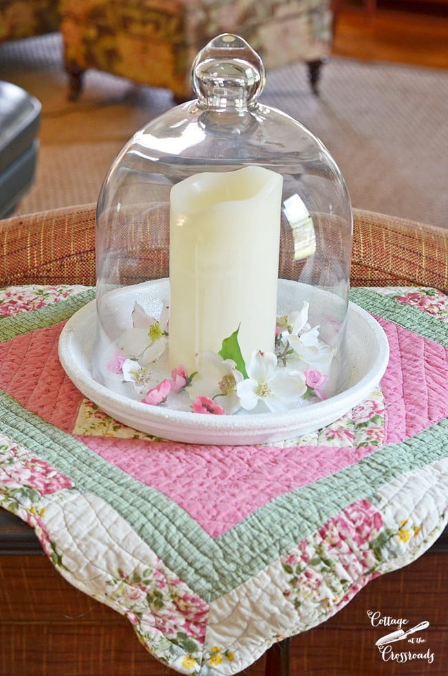 spring cloche | Cottage at the Crossroads