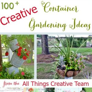 Creative Container Gardening Ideas