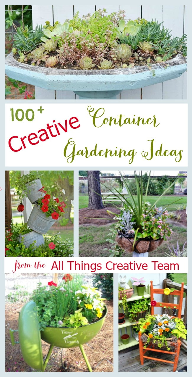 Over 100 Creative Container Gardening Ideas All In One Place!
