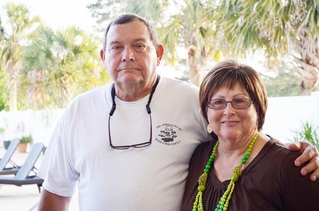 Herb and Brenda at Civitan party