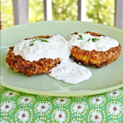 Garden Pea Fritters