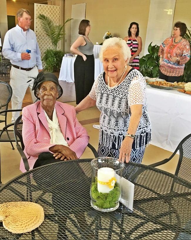 Mrs. Dot Plummer and Mrs. Dot White from Lamar, SC