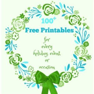 Free Printables for Every Occasion