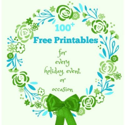 Free Printables for Every Occasion, Holiday, or Event from The All Things Creative Team
