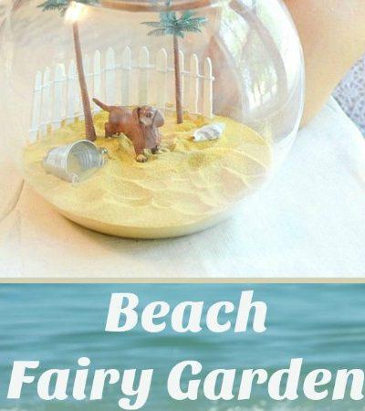 How to Make a Beach Fairy Garden