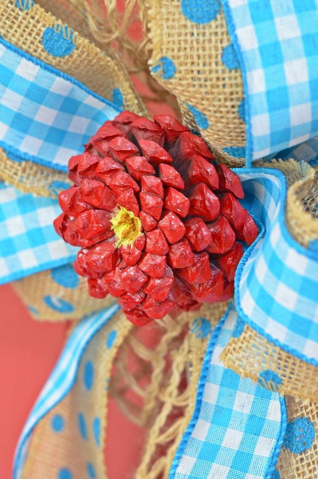pinecone zinnias