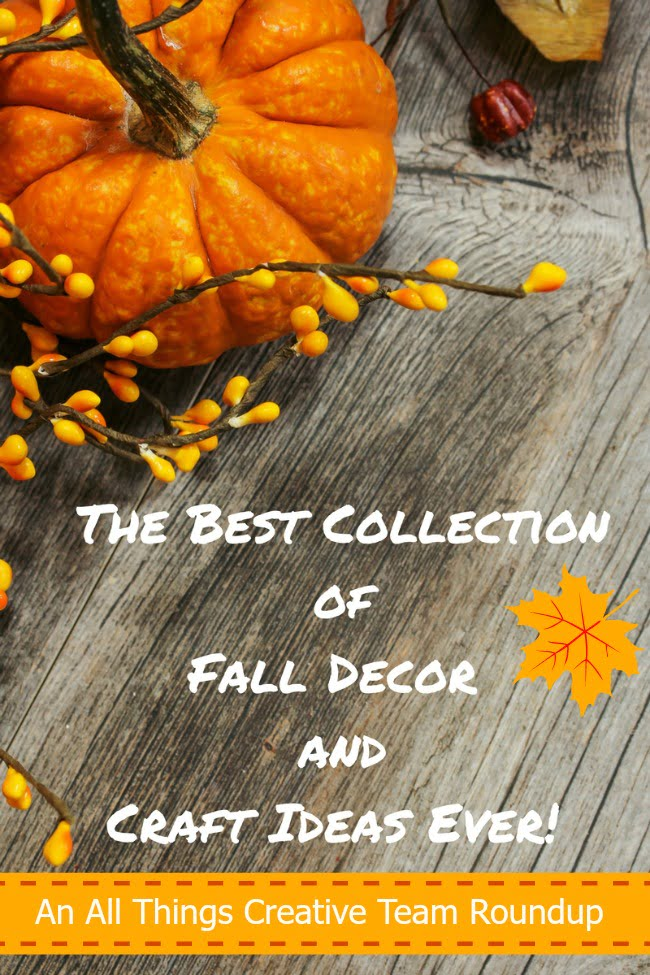 Over 100 Fall Decor and Craft Ideas-all in one place!
