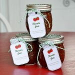 Delicious, homemade tomato jam