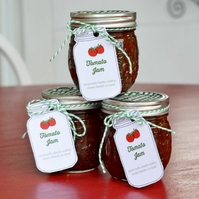Homemade Tomato Jam