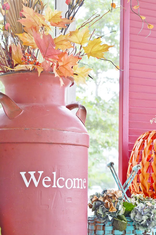 Fall front porch tour | Cottage at the Crossroads