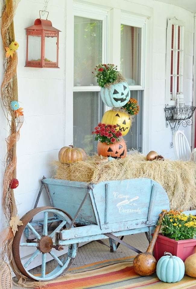 fall porch tour | Cottage at the Crossroads