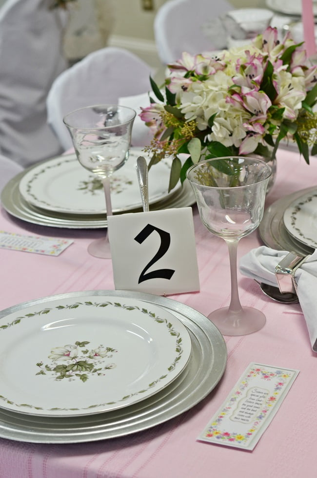 tablescape ideas from the Angels Among Us luncheon