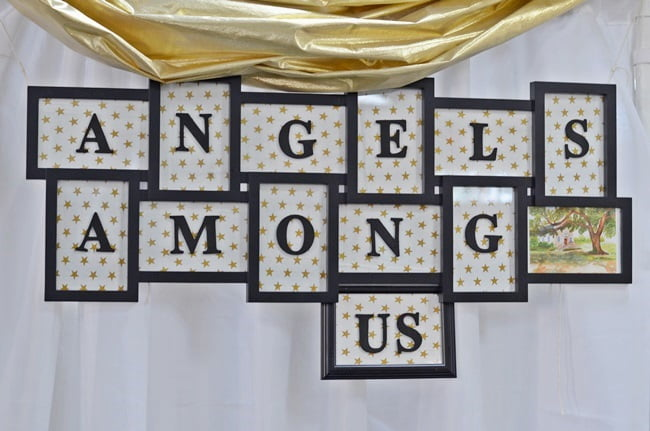 Angels Among Us Tablescape Luncheon
