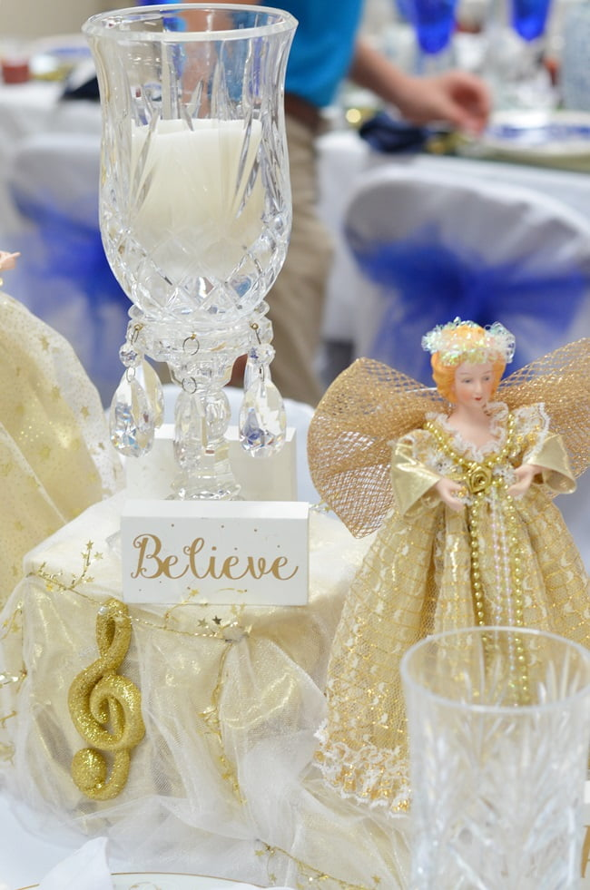 angel tablescape
