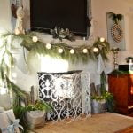 Angelic Christmas Mantel | Cottage at the Crossroads