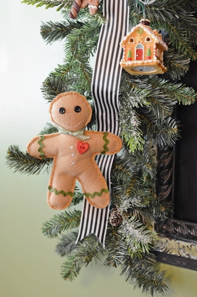 handmade gingerbread boy | Cottage at the Crossroads