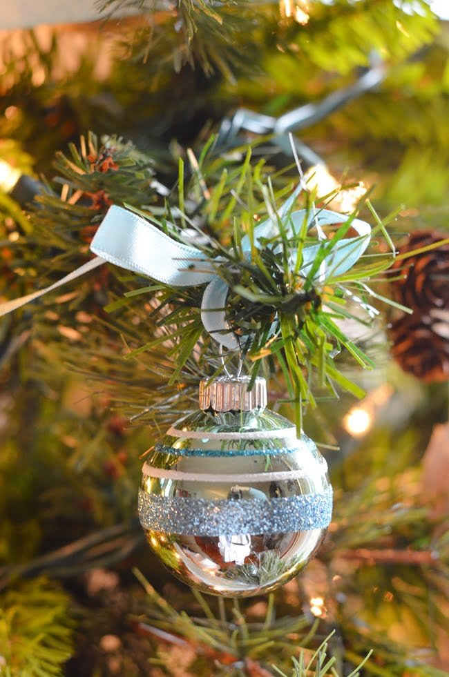 reproduction Shiny Brite ornaments | Cottage at the Crossroads