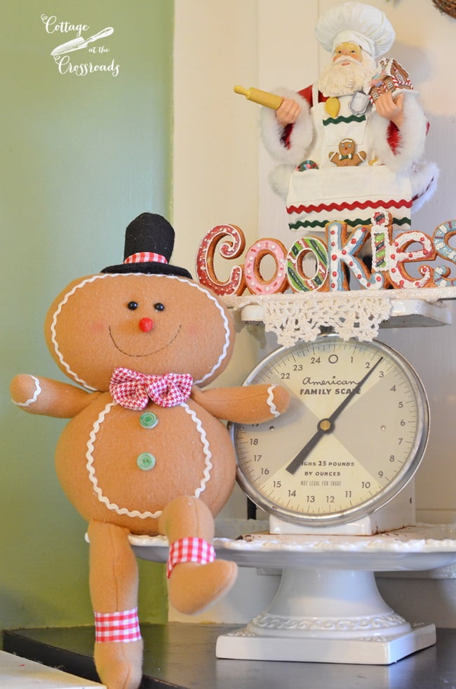 gingerbread kitchen | Cottage at the Crossorads