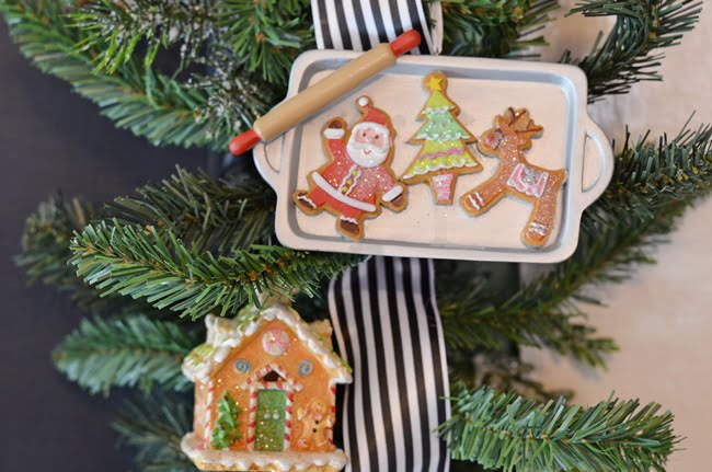 gingerbread Christmas ornaments | Cottage at the Crossroads