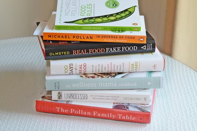 Books about a Real Food diet