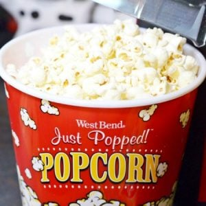 Air Popped Popcorn-A Healthy Real Food Snack