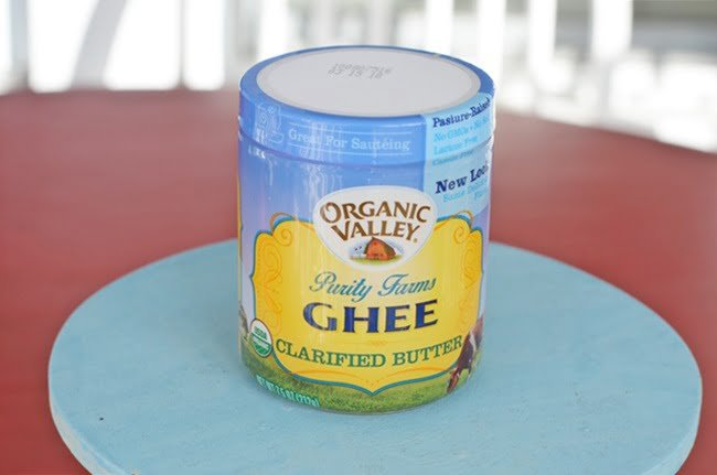 Organic Valley Ghee-a healthy cooking fat