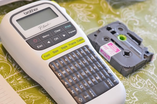 Brother P-Touch Label Maker | Cottage at the Crossroads