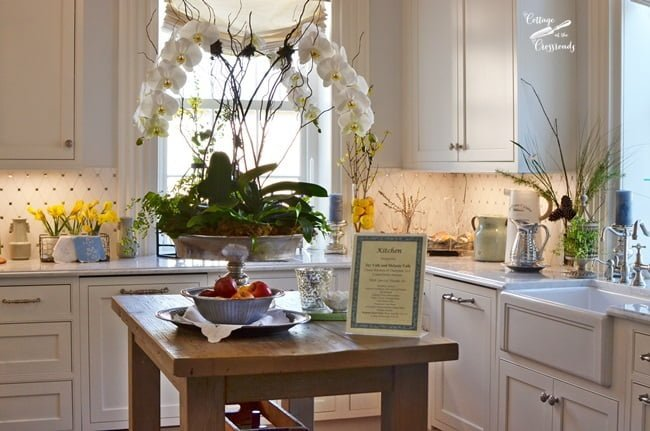kitchen in the Charleston Designer Showhouse | Cottage at the Crossroads