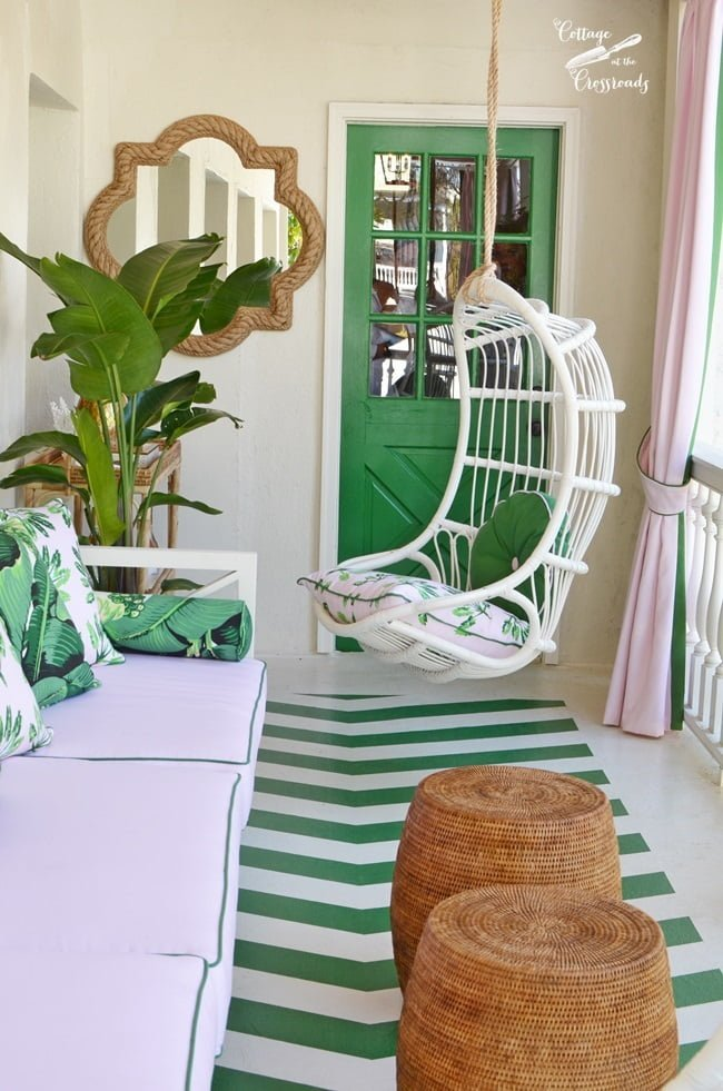 Garden Veranda at the Charleston Designer Showhouse