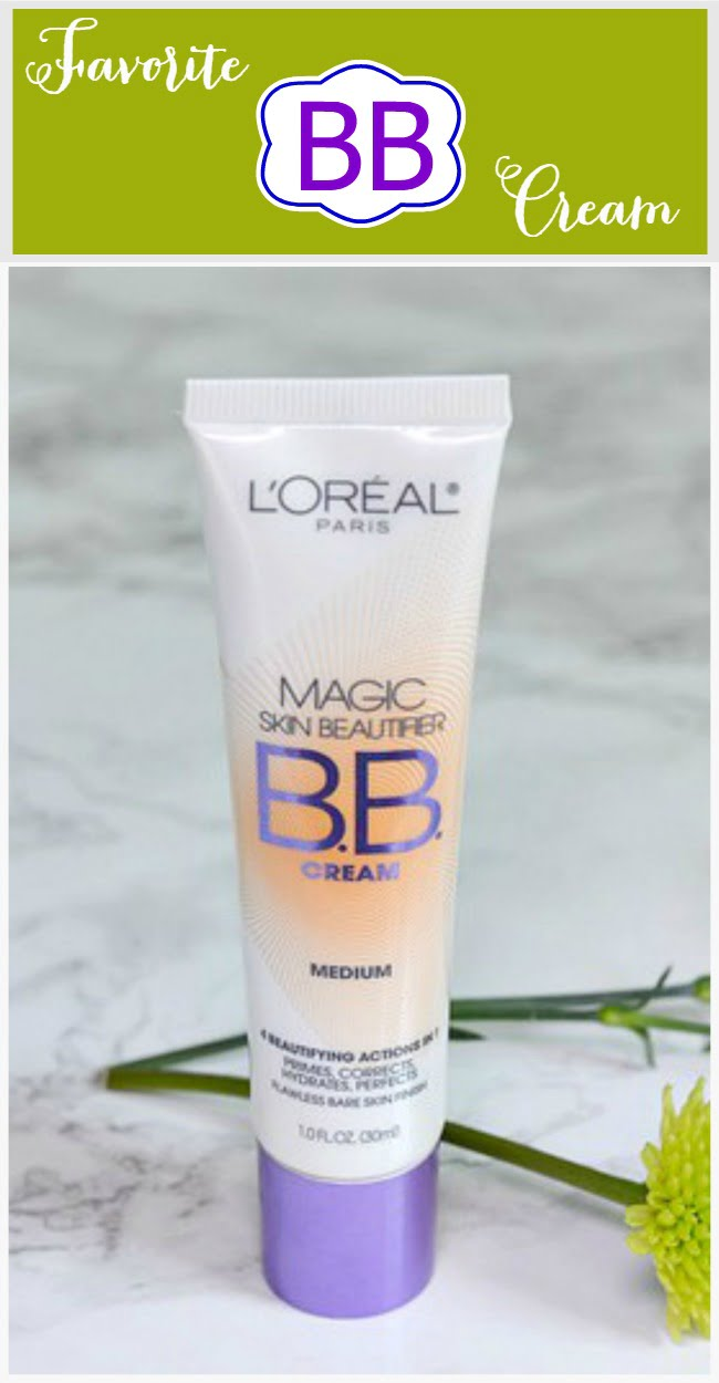 My Favorite BB Cream is this one. It is wonderfully lightweight and perfect for summer!
