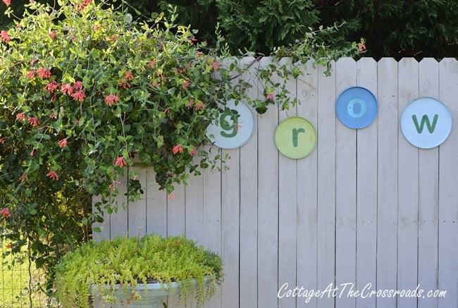 DIY GROW Garden Letters