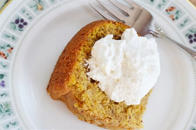 Delicious Autumn Pumpkin Pound Cake Recipe