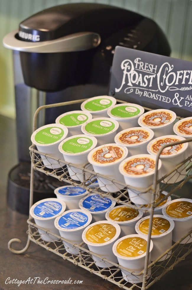 K-Cup Counter Storage Rack