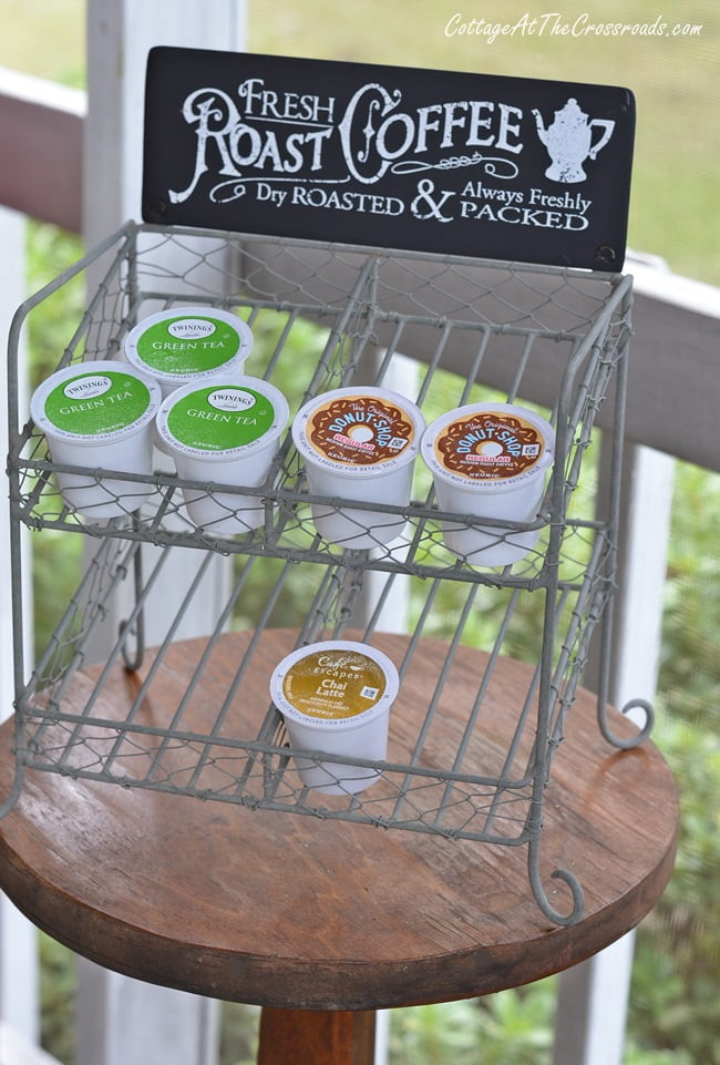 K-Cup Storage Rack from Emory Valley Mercantile