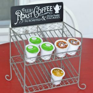 Cutest K-Cup Storage Rack Ever!