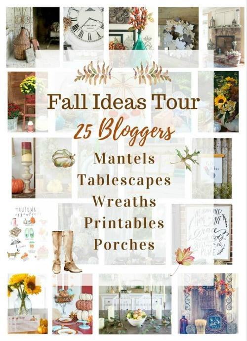 Fall Ideas Tour featuring 25 of your favorite bloggers!