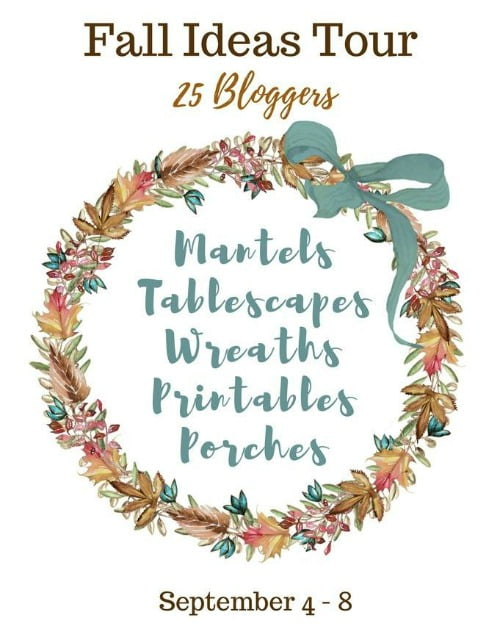 Fall Ideas Tour featuring 25 of your favorite bloggers
