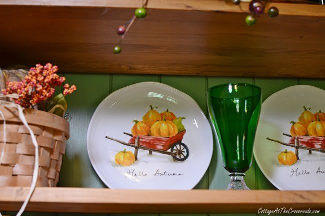 autumn salad plates from Pier 1