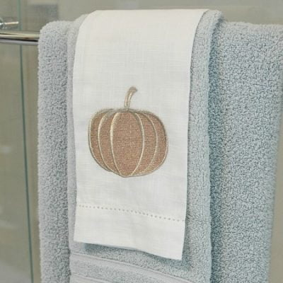 Fall Bathroom Update and a Giveaway