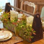 Traditional Fall Farmhouse Tablescape