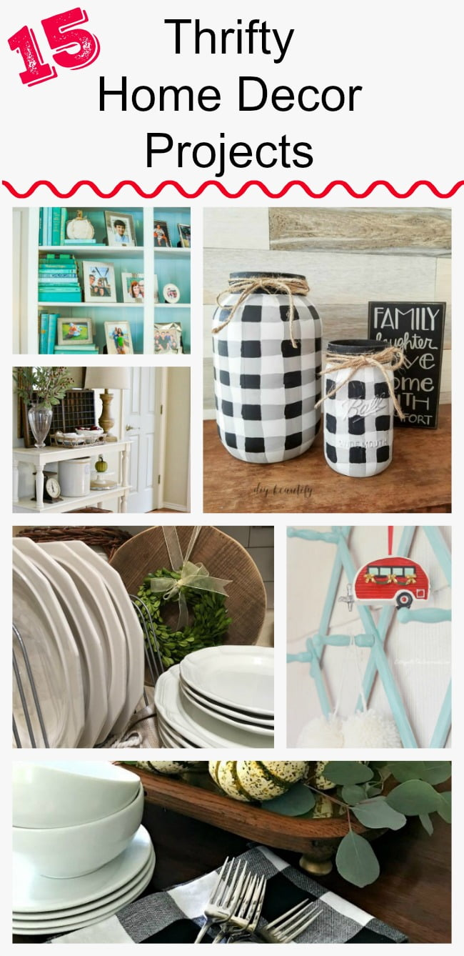 Thrifty Home Decor Projects from the Thrifty Style Team