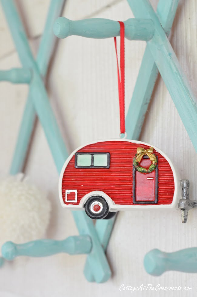 vintage camper Christmas ornament from JoAnns
