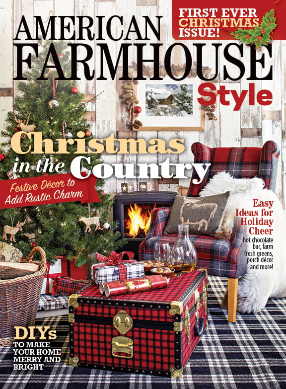 American Farmhouse Style Magazine-first Christmas issue
