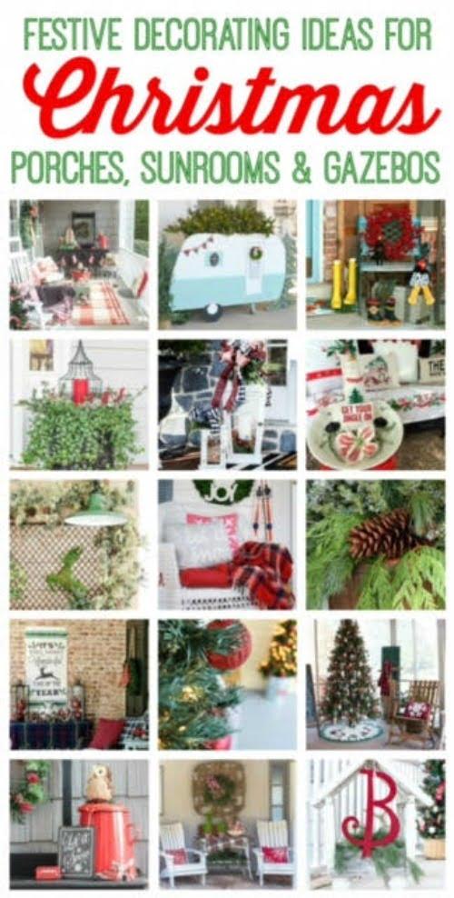 Christmas Porch Tour